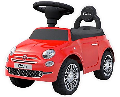 乗用玩具 フィアット500【レッド】 FIAT500 足けり乗用玩具 正規ライセンス 足けり玩具 押し車 子供が乗れる!