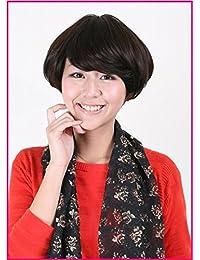 [Wigs2you]フルウィッグ★在庫処分★激安★最高級日本製ファイバーフルウィッグ W-554 Charcoal