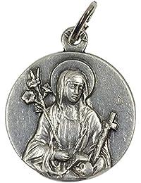 イタリア製メダイ シエナの聖カタリナ(St.Catherina of Siena)