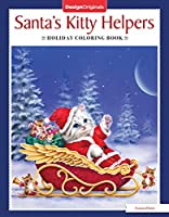 Santa's Kitty Helpers Holiday Coloring Book (Design Originals)