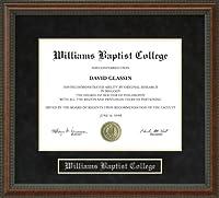 ウィリアムズ大学卒業証書Baptistフレーム ar-wbc-91-burl