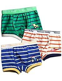 [Vaenait Baby] 入園入学アイテム1-7歳子供肌着綿100%キッズ男の子下着3枚組パンツショートボクサーブリーフインナー