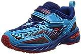 [シュンソク] 運動靴 V8  SJC 3080 BK ブルー 18.5 2E