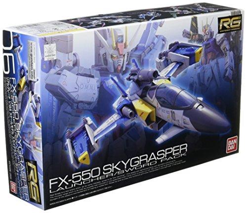 RG 1/144 FX550 スカイグラスパー ランチャー/ソードパック (機動戦士ガンダムSEED)