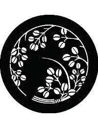 家紋シール 萩の丸2紋 布タイプ 直径40mm 6枚セット NS4-2567