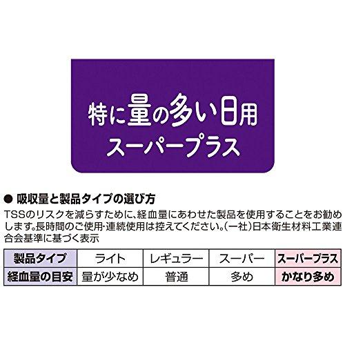 『【まとめ買い】ソフィ ソフトタンポン スーパープラス 特に量の多い日用 25コ入×2個パック(unicharm Sofy)』の5枚目の画像