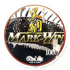 サンライン(SUNLINE) ライン 落し込み黒鯛 MARK-WIN 100m 2.25号