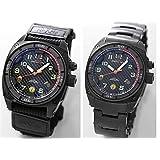 [エムティーエム]MTM スペシャルOPS ブラックファルコン TI088B ステンレス ブラック 腕時計とバリスティックバンドセット