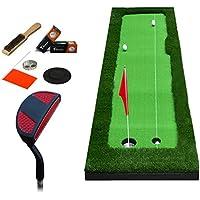 屋内ゴルフマットオフィスパタープラクティスフェアウェイマットパターセット、8ミリメートル厚さ、2つのサイズで毛布を練習している子供 (サイズ さいず : 75*300cm)