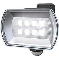 ムサシ RITEX フリーアーム式LEDセンサーライト(4.5Wワイド) 「乾電池式」 防雨型 LED-150