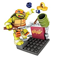 Mega Bloks Teenage Mutant Ninja Turtles Mikey Nunchuk Training Pack [並行輸入品]