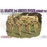 ドラゴン 1/35 第二次世界大戦 アメリカ軍 第2機甲師団歩兵 ノルマンディ 1944 プラモデル DR6120