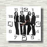 The Beatles 11'' 壁時計(ビートルズ)あなたの友人のための最高の贈り物。逆にしているメカニズム。あなたの家のためのオリジナルデザイン
