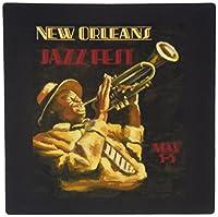 3drose 8x 8x 0.25インチVintage New Orleans Jazzポスターマウスパッド( MP _ 155435_ 1)