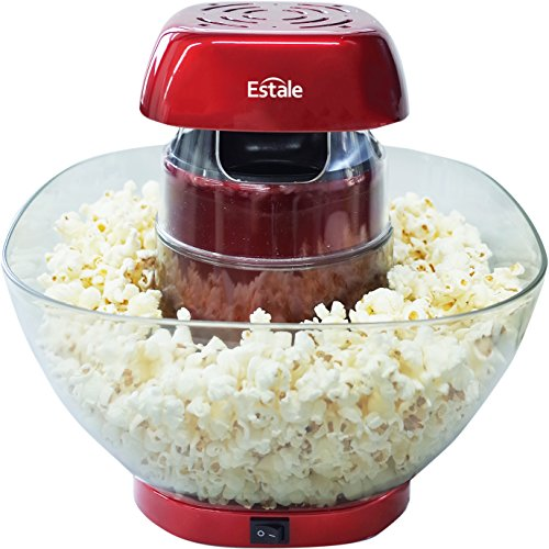 [해외]Estale 본격 홈 팝콘 메이커 MEK-44/Estale Authentic Home Popcorn Maker MEK-44