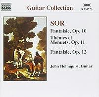 SOR: Guitar Music Opp.10-12 Complete Guitar Music 8 (1998-05-12)