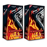 KamaSutra Intensity - 20 Condoms (Pack of 2)(Ship from India)
