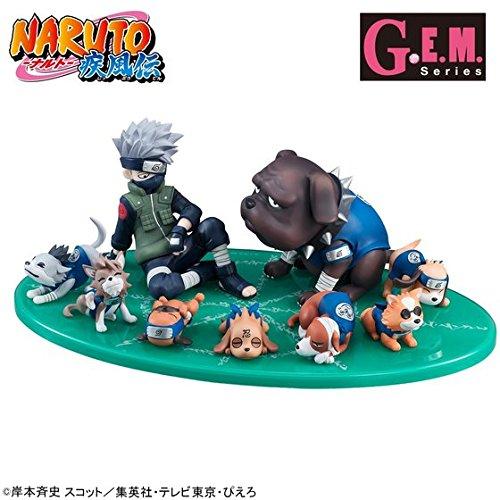 G.E.M.シリーズ 外伝! NARUTO-ナルト- 疾風伝 はたけカカシと忍犬セット 暗部