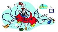 Dr. Seuss Giant Cat in Car Bulletin Board Set 車掲示板セットでドクター?スースジャイアントキャット♪ハロウィン♪クリスマス♪