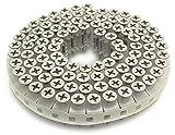 WAKAI ロール連結ビス ハイ&ロー よび径3.8X全長25mm 銀 100本X20巻入 RV25GWH