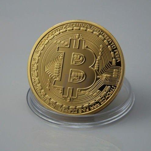 ビットコイン BitCoin 仮想通貨 (ゴールド)