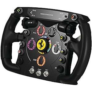Thrustmaster Ferrari F1 Wheel Add-On(PC / PS3 / Xbox One / PS4) ステアリングホイール ゲームコントローラ KB343 4160571
