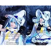 雪ミク VOCALOID 初音ミク 2014年 雪ミク コスプレ 衣装 yy606(女性サイズオーダー品)