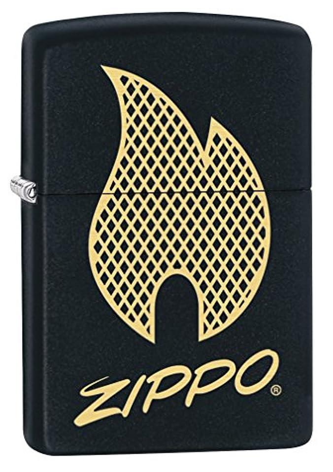 回路受け継ぐ鉱夫ZIPPO(ジッポー) ライター 2018 プライスファイター 29686 ブラックマット 29686