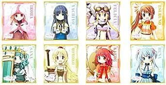 マギアレコード 魔法少女まどか☆マギカ外伝 ミニ色紙コレクション vol.1 BOX商品 1BOX=8個入り、全8種類