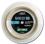 ヨネックス(YONEX) バドミントン ストリングス ナノジー 98