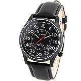 [ラドウェザー] 腕時計 スイス製トリチウム ミリタリーウォッチ メンズ時計 サバイバル スポーツ