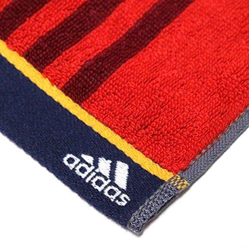 adidas 汗拭き スリム スポーツ タオル 行楽 や アウトドア フィットネス 健康 的 な 運動 に (11.レッド系C)