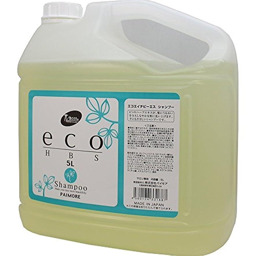 蒸留するデコレーション疲労パイモア エコエイチビーエス シャンプー 5000ml