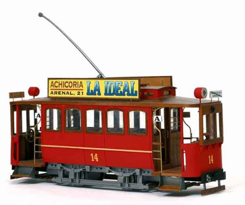 路面電車 シベレス(木製模型キット)和訳付き