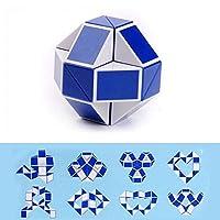 Leoie Snake マジックルーラー ツイストパズル ツイストトイスティーストイコレクション 脳のティーザーおもちゃ ランダムクリスマスギフト