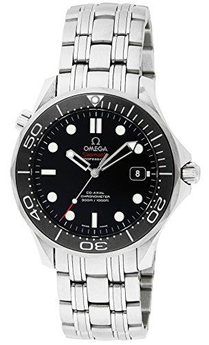 [オメガ]OMEGA 腕時計 シーマスター300M ブラック...