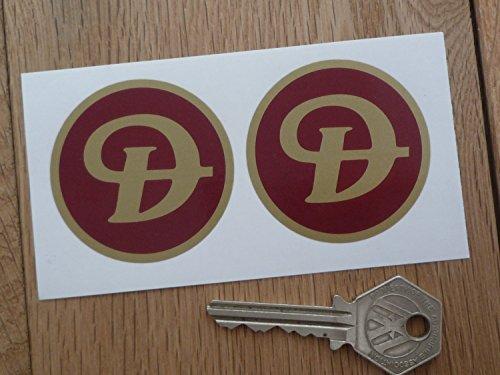 Daimler Wheel Centre Stickers ダイムラー ステッカー シール デカール 海外限定 50mm 2枚セット [並行輸入品]