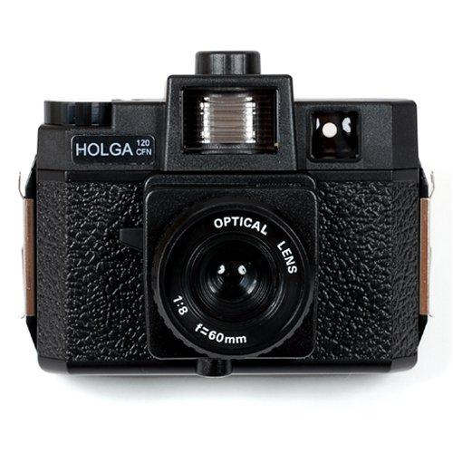 HOLGA120CFN プラスチックレンズ カラーフィルター内蔵ストロボ付き HOLGA120CFN