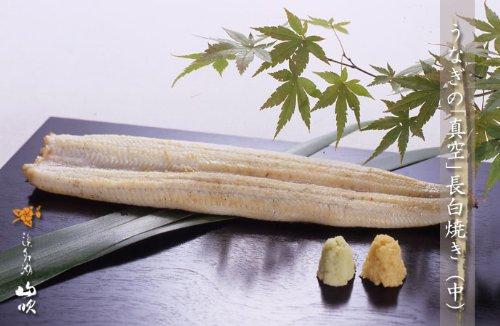 浜名湖山吹 うなぎの真空長白焼き(中) 9本