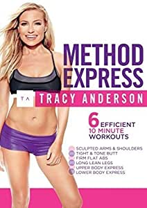 Tracy Anderson: Method Express [DVD] [Import]