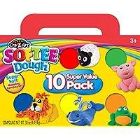 Cra-Z-Art Softee Dough 10 Pack (13565)【クリスマス】【オーナメント】 [並行輸入品]