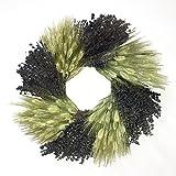 秋フィールドDried小麦、ラベンダーWreath