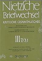 Nietzsche Briefweschsel: Kritische Gesamtausgabe