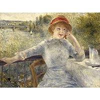 Auguste Renoir Alphonsine Fournaise Extra Large Art Print Wall Mural Poster Premium XL ルノワール大アート壁ポスター