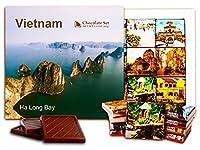 """DA CHOCOLATE キャンディ スーベニア """"ベトナム"""" チョコレートセット 5×5一箱 (Islands)"""