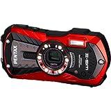 PENTAX 防水デジタルカメラ Optio WG-2 (バーミリオンレッド) 約1600万画素 CALSモード OPTIOWG-2RD