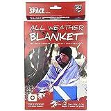 MPI(エムピーアイ) オールウェザーブランケット 毛布 暖かい キャンプ 登山 テント アウトドア 防寒 シート代わり 多目的使用可