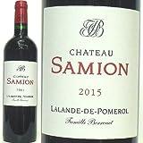 Chateau Samion(シャトー・サミオン) 、2015 ラランド・ポムロールAOC( 赤 ) 750ml