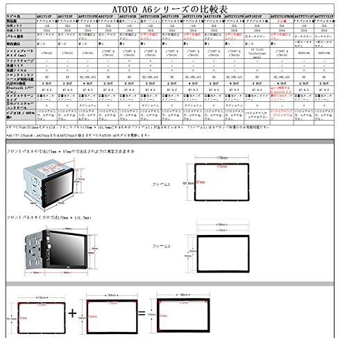 ATOTO A6デュアルDin AndroidカーナビゲーションA/Vシステム