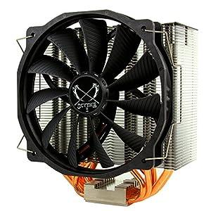 サイズ 【HASWELL対応】 阿修羅 ASHURA 非干渉形状 14cmサイドフロー型CPUクーラー SCASR-1000
